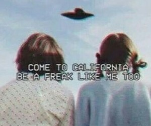 freak, lana del rey, and california image