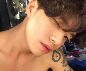 boy, tattoo, and ulzzang image
