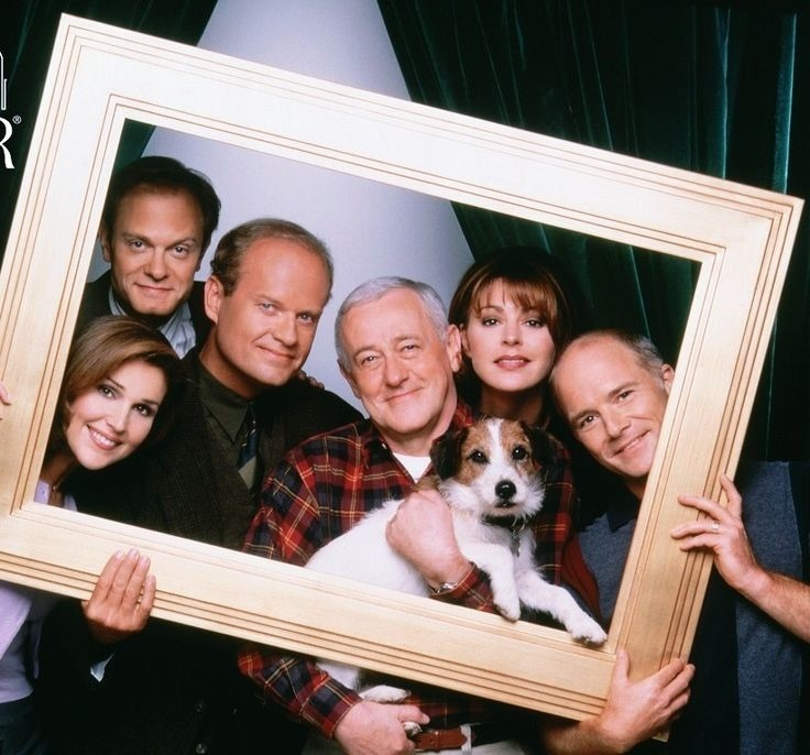 daphne, frasier, and frasier crane image
