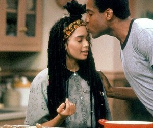 kiss and lisa bonet image