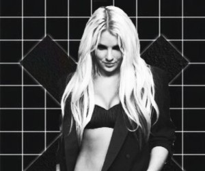 black and white, britney, and britney spears image
