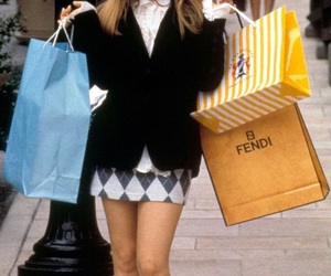 Clueless, shopping, and alicia silverstone image