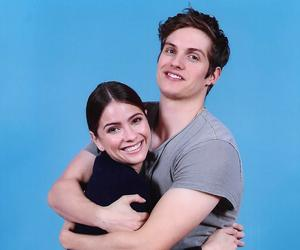 daniel sharman, teen wolf, and shelley hennig image