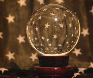 aesthetic, crystal ball, and fortune teller image