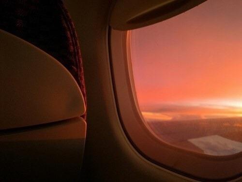orange, peach, and sunset image