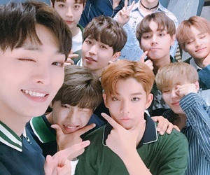 bias group and wannaone image