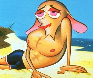 90's, beach, and cartoons image
