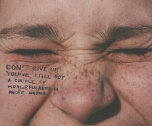 freckles, inspiration, and quote image