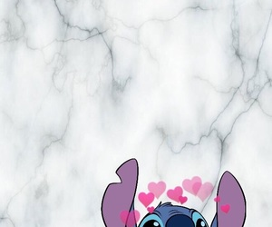 hearts, pet, and stitch image