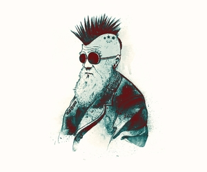 punk rock, threadless, and illustration image