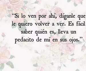 love, frases, and ojos image