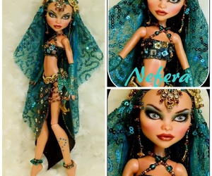 ooak, monster high custom doll, and repaint image
