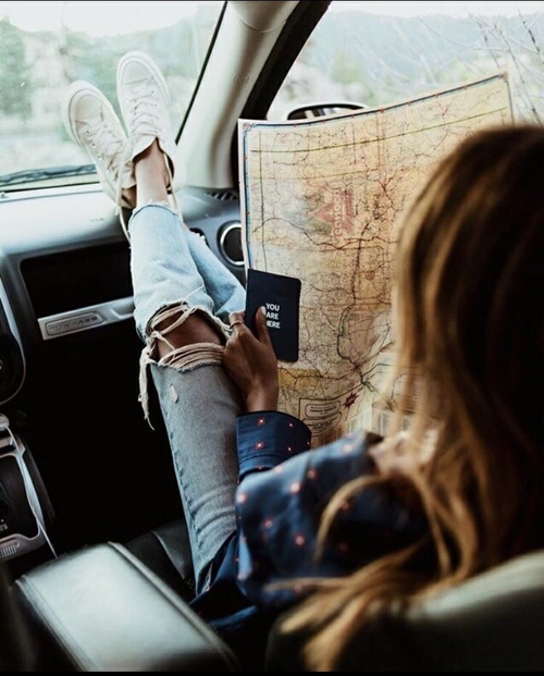 map, travel, and wanderlust image