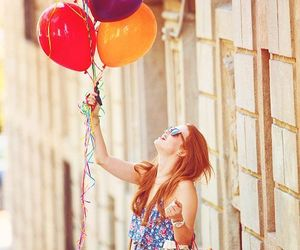 holland roden, teen wolf, and balloons image