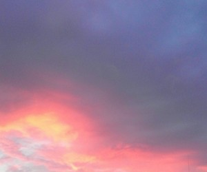 pink, sunset, and violet image