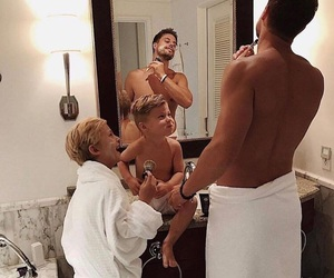 family, boy, and goals image