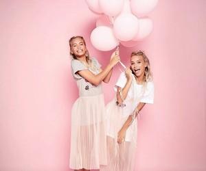pink, lisaandlena, and beautiful image