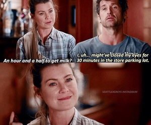 lol, grey's anatomy, and derek and meredith image
