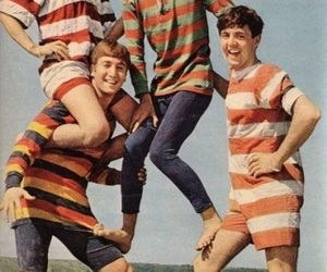 the beatles and vintage image