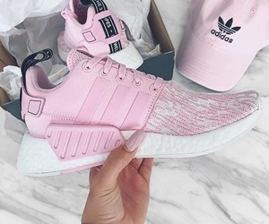 adidas, luxury, and pink image