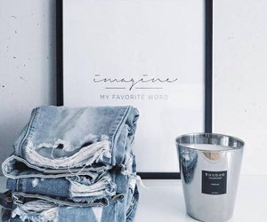 jeans, blue, and theme image