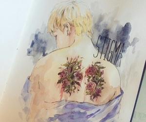 draw, drawing, and taehyung image