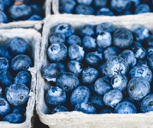 blue, blueberry, and food image