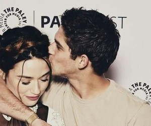crystal reed, tyler posey, and teenwolf image