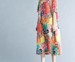 linen dress, maxi dress, and women dress image