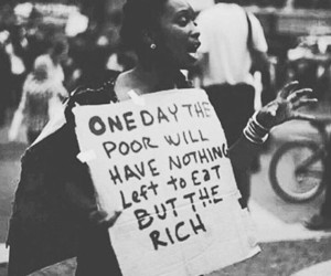 poor, rich, and quotes image
