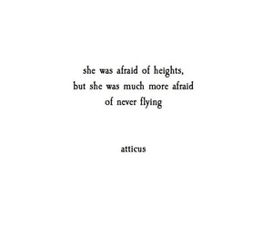 quotes, atticus, and afraid image