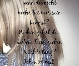 german, tumblr, and songtext image
