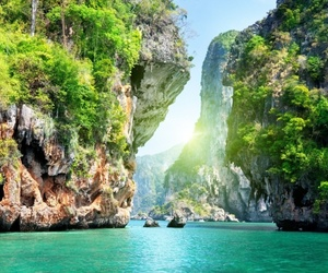thailand, sea, and summer image