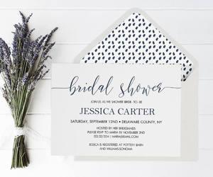 etsy, shower invitation, and diy bridal shower image