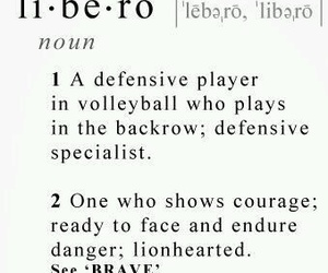 anime, volleyball, and libero image