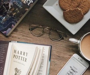 harry potter, book, and Cookies image