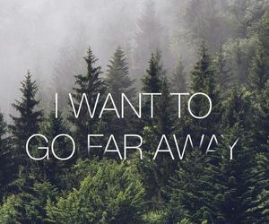 wallpaper, forest, and quotes image