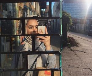 hijab fashion and selfie hijab image