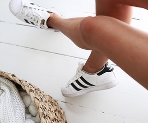 shoes, adidas, and outfit image