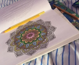 mandala, anti-stress, and something good image
