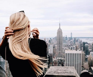 girl, new york, and beautiful image