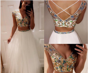 Prom, homecoming dress, and fashion dress image