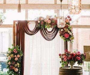 beautiful, boda, and decor image