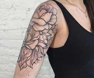 arm, ink, and linework image