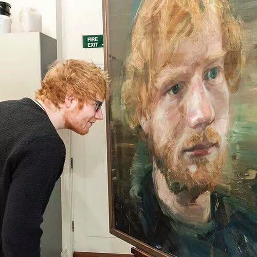 art, ed, and edsheeran image