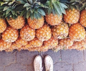 ananas, FRUiTS, and girls image