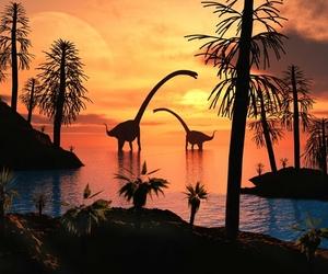 art, dinosaur, and dinosaurs image
