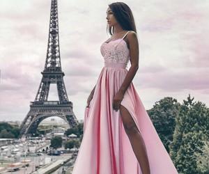 dress, paris, and style image