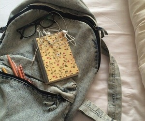 backpack and pale image