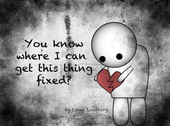quote, broken heart, and sad image